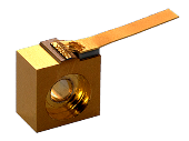High power diode laser on C-mount